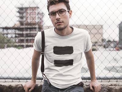 BlackKaps.com Black Kaps Equals T-Shirt Model