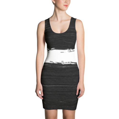 All Things Equal - Dress in Black and White by Black Kaps®