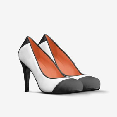 The EL G - B&W Heel - Nick Angel - Black Kaps® double quarter