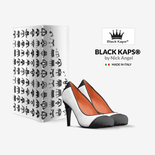 The EL G - B&W Heel - Nick Angel - Black Kaps® with box