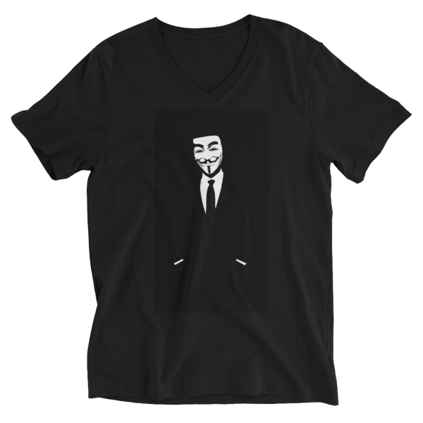 Anonymously Kasual - Short Sleeve V-Neck T-Shirt by Black Kaps®