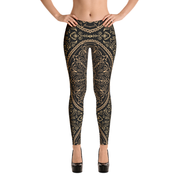 Reale Regal Women's Leggings by Black Kaps®