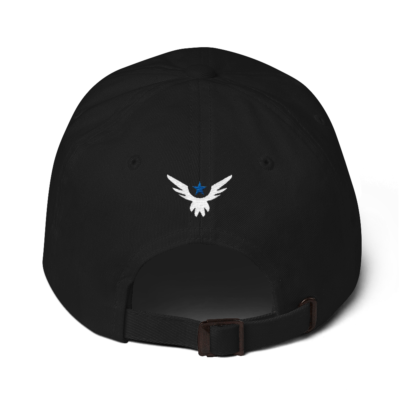 BlackKaps.com Black Kaps - Angel Signature Dad hat - Nick Angel - Angel