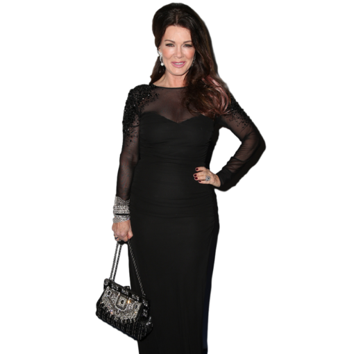 BlackKaps.com Black Kaps - Lisa Vanderpump - Peoples Choice Awards - Red Carpet - Dolce & Gabbana Vanda Clutch