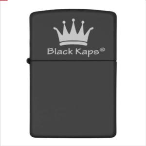 BlackKaps.com Black Kaps Nick Angel Zippo- Front