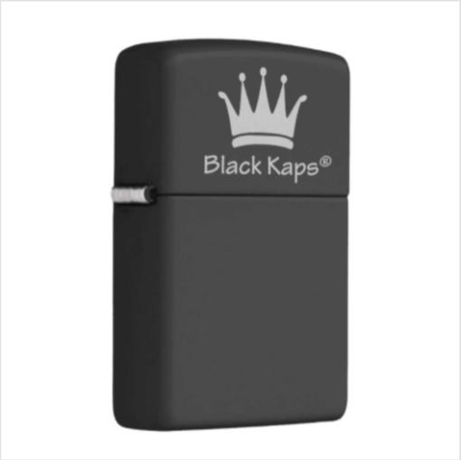 BlackKaps.com Black Kaps Nick Angel Zippo- Right