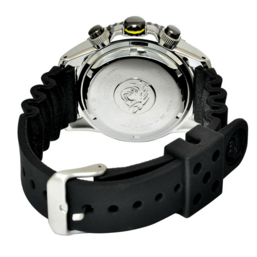 BlackKaps.com Black Kaps - Seiko Solar Diver - Watch - 3:4 Rear