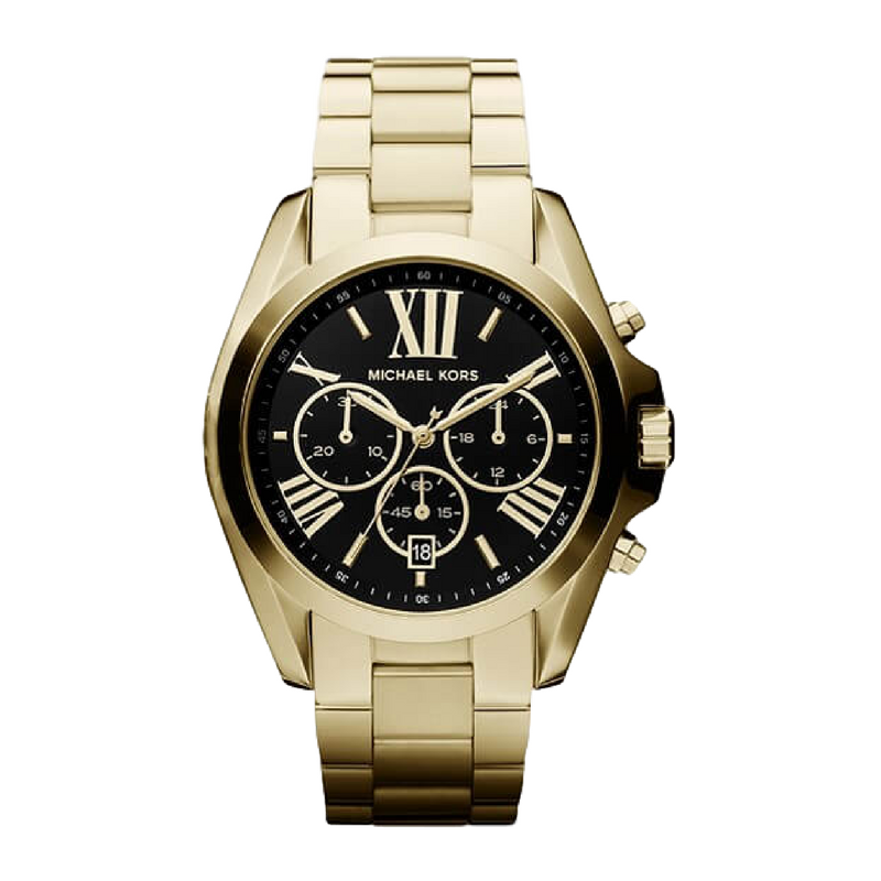 Michael Kors - Bradshaw Chronograph - Black & Gold