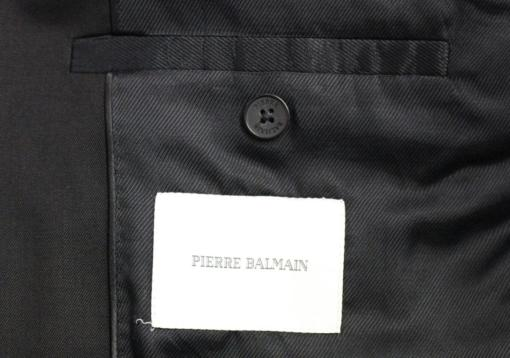 BlackKpas.com Black Kaps - Balmain - Black Two Button Blazer w Vest - Balmain Label