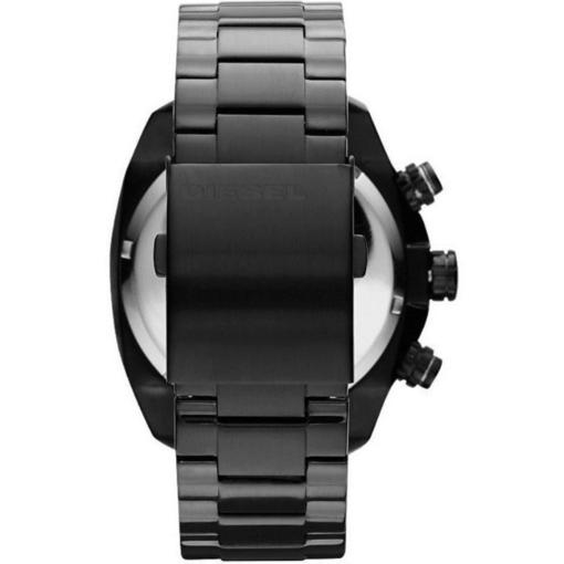 Diesel Black Chronograph Watch - Blacks Kaps - Back