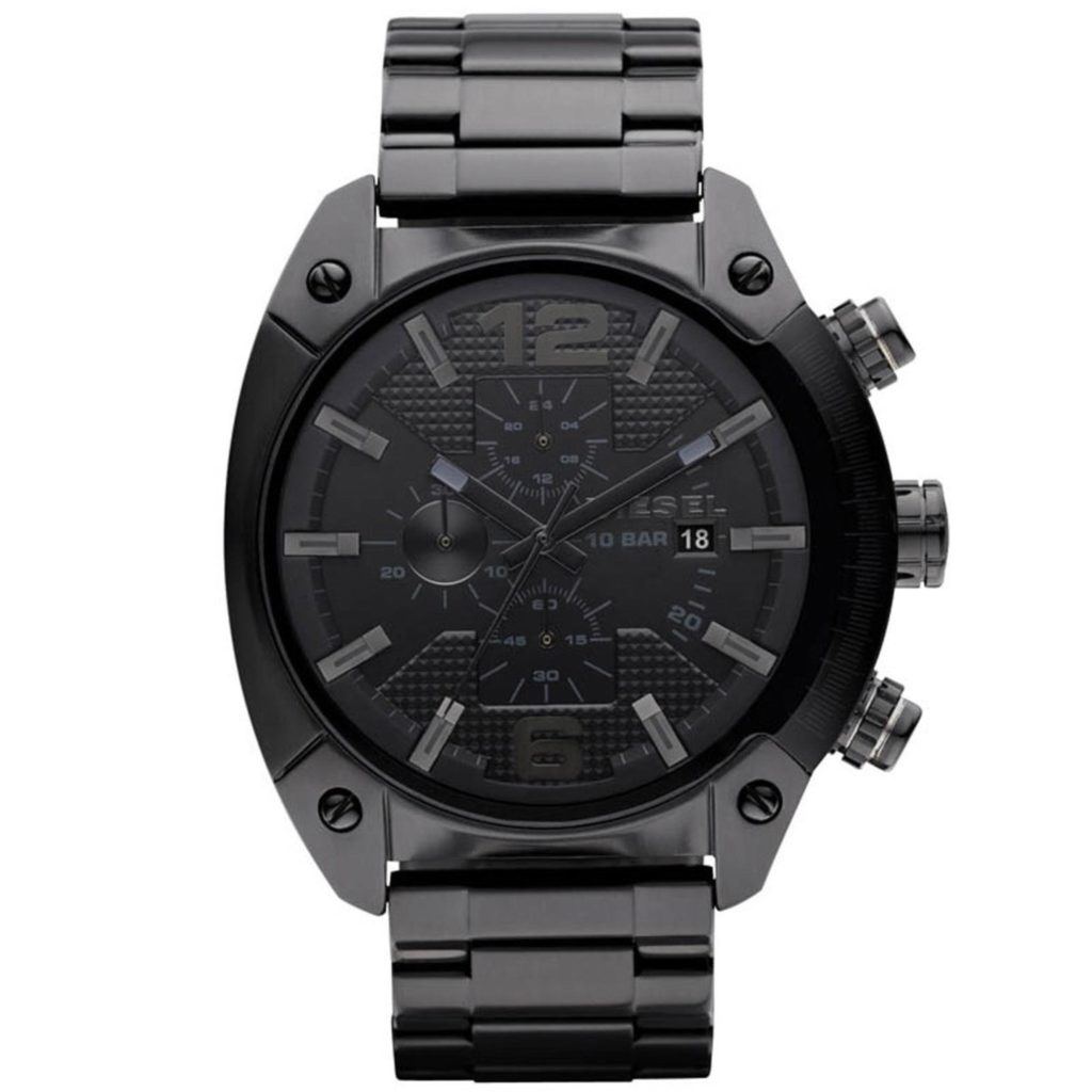 Diesel Advanced Chronograph - Black Stainless Steel Watch