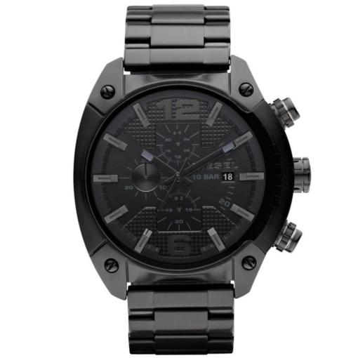 Diesel Black Chronograph Wtach - Blacks Kaps - Front