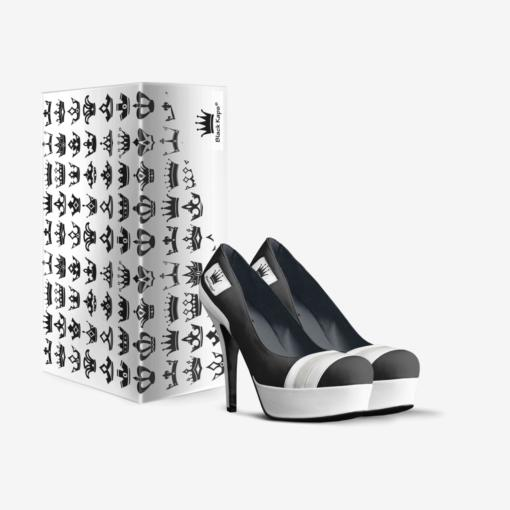 The EL G - Platform Pump by Nick Angel - Black Kaps® - Double Box