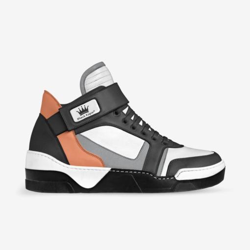 The EL G - Sneaker - by Nick Angel - Black Kaps® - Side View