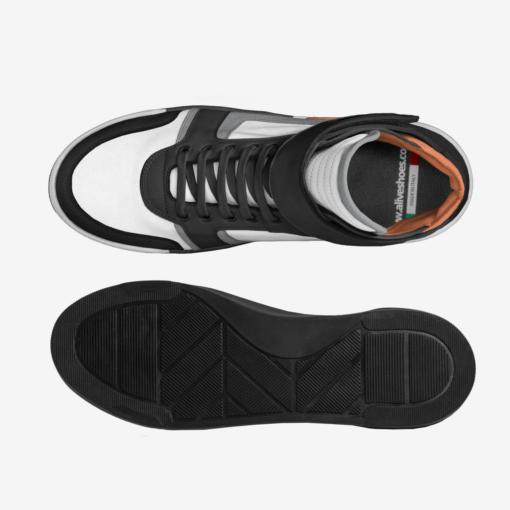 The EL G - Sneaker - by Nick Angel - Black Kaps® - Top : Bottom