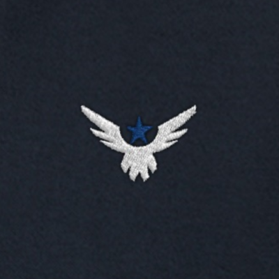 AngelWear.co Angel Wear Angel Polo Shirt Logo