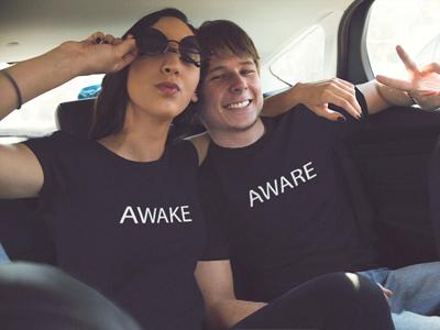 BlackKaps.com-Black-Kaps---Awake-&-Aware-T-Shirt-Models