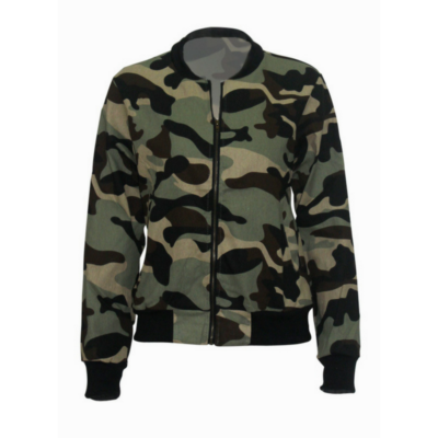 BlackKaps.com Black Kaps - Camouflaged Ladies Jacket