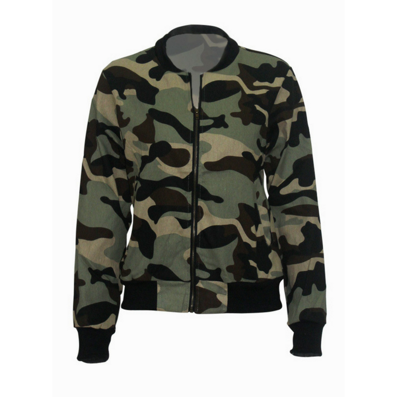 Camouflaged - Ladies Jacket