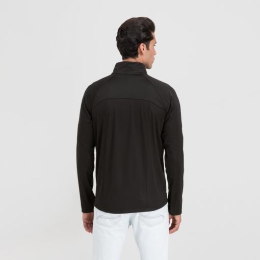 BlackKpas.com Black Kaps - Angel Wear Tunari Soft Shell Jacket - Model Back