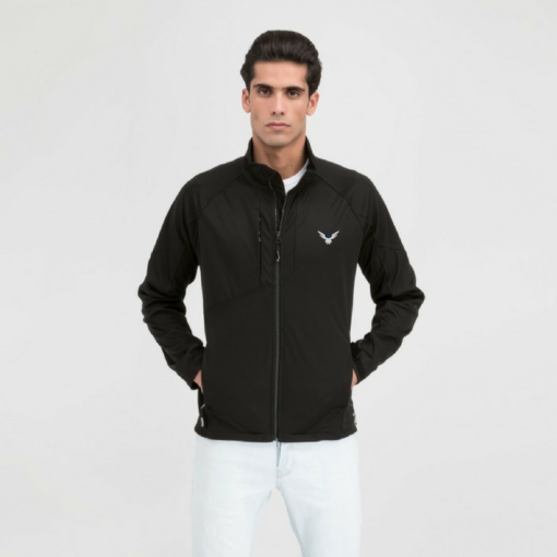 BlackKpas.com Black Kaps - Angel Wear Tunari Soft Shell Jacket - Model Front