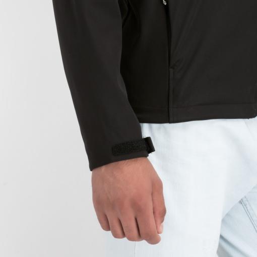 BlackKpas.com Black Kaps - Angel Wear Tunari Soft Shell Jacket - Model Sleeve