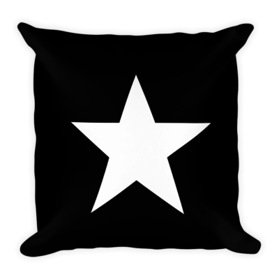 BlackKaps.com Black Kaps - Star Pillow