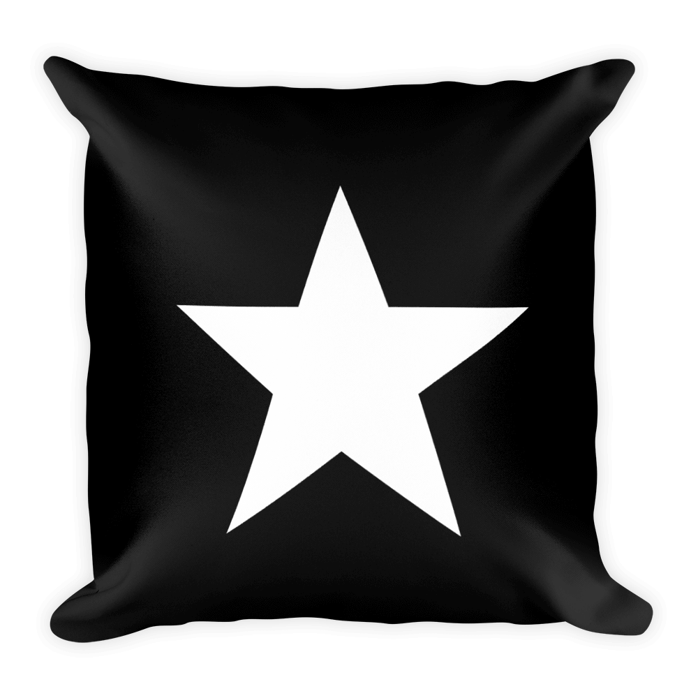 Star Square Pillow