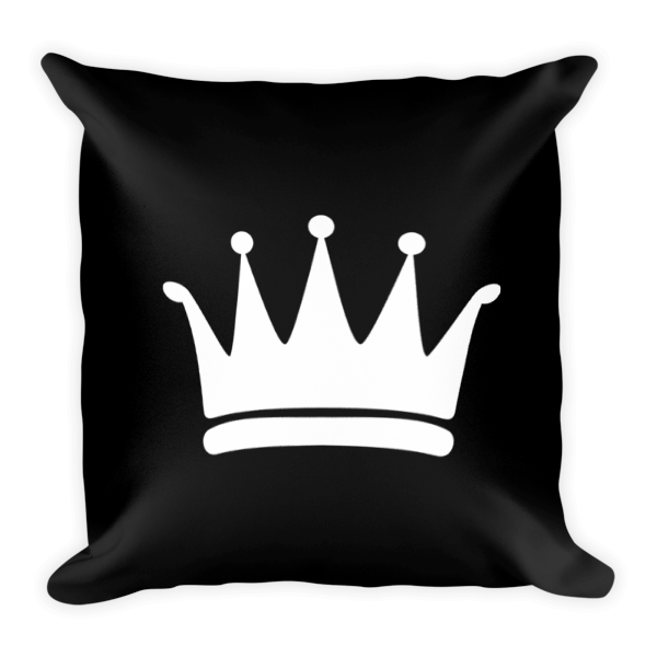 Krown Square Throw Pillow