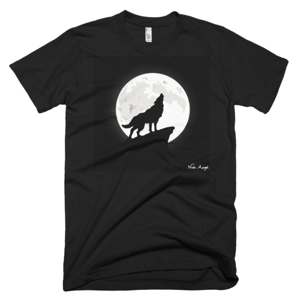 Classic Moon Wolf T-Shirt