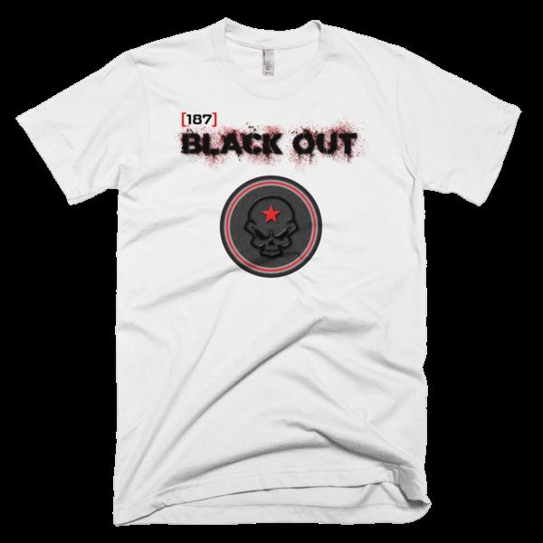 Pro Gamer [187] Black Out Clan Short-Sleeve T-Shirt