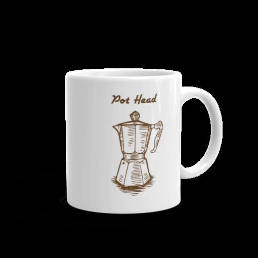 BlackKaps.com Black Kaps - Coffee Mug - Pot Head - Handle on Right Mug Mockup 1000x1000