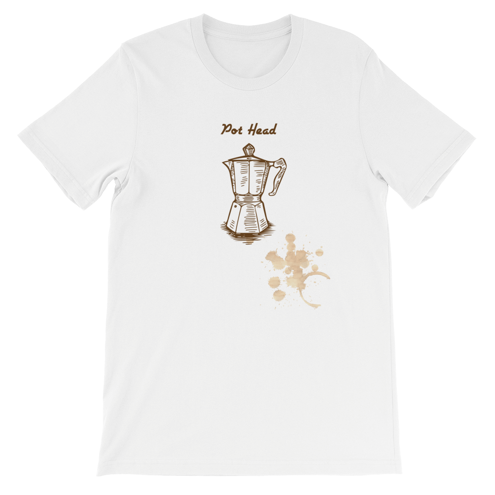 The Coffee Pot Head Short-Sleeve Unisex T-Shirt