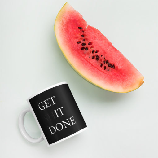 BlackKaps.com - Black Kaps Get It Done Mug - mockup_Watermelon_Environment_11oz